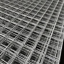 Marko Fencing 6ft Galvanised Wire Mesh Panels Steel Sheet Metal Welded 2 Holes 1 Amazon Co Uk Garden Outdoors