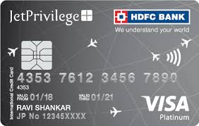 hdfc bank visa credit cards in indri