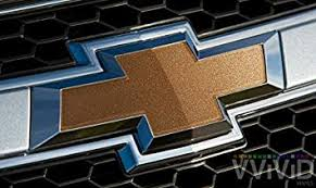 Amazon Com Vvivid Gold Metallic Gloss Auto Emblem Vinyl Wrap Overlay Cut Your Own Decal For Chevy Bowtie Grill Rear Logo Diy Easy To Install 11 80 Inches X 4 Inches Sheets X2 Automotive