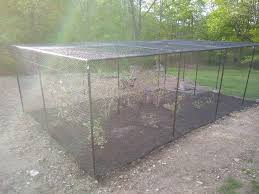 Garden Fence Kit For Deer Birds And Animals With Top 7 5 X 15 For Sale Online Ebay