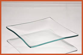 5 square clear glass plate 1 8 thick