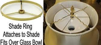 fascinating bowl lamp shades lighting