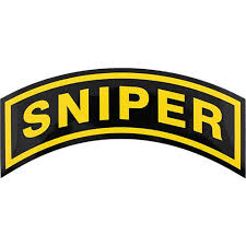 U S Army Sniper Large Decal Usamm