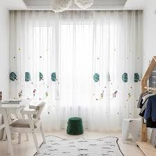 Sheer Curtains Living Room Bedroom Space Embroidered Voile Window Curtain Childrens Room Red Velvet Curtains Heavy Curtains From Daisy433 8 55 Dhgate Com