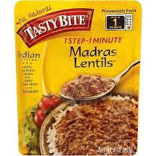 tasty bite lentils madras indian
