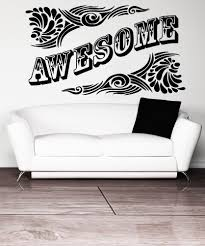 Vinyl Wall Decal Sticker Awesome 5164 Stickerbrand