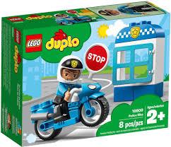 Đồ chơi lắp ráp LEGO Duplo 10900 - Xe Cảnh Sát của Bé (LEGO 10900 ...