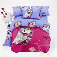 owl girls bedding sets king queen