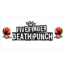 Five Finger Death Punch Photo License Plate Walmart Com Walmart Com