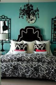 black upholstered headboard turquoise