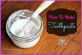 homemade toothpaste a natural recipe