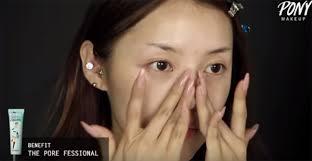 korean makeup artist transforms herself