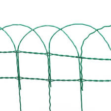 0 65m X 10m Roll Of Garden Border Wire Fence Buy 0 65m X 10m Roll Of Garden Border Wire Fence Garden Border Fence Green Pvc Coated Border Fence Product On Alibaba Com