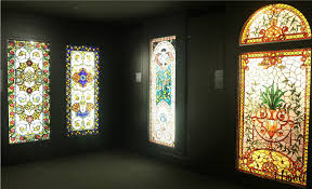 stained glass designs needlepoint