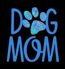 Dog Mom Decal In Blue Great For Window Mirror Car Truck 5 X 5 884288268204 Ebay