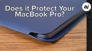 apple s leather sleeve for macbook pro
