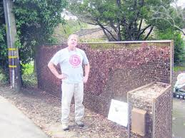 Compost Fence Or Gabion Art Compost Garden Compost Sacred Garden