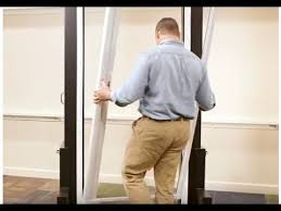 installing a retractable screen door