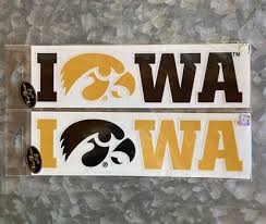 University Of Iowa Wall Decals University Of Iowa Tigerhawk Vinyl Decal