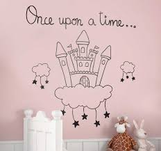 Once Upon A Time Castle Wall Sticker Tenstickers