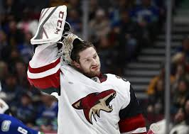 Arizona Coyotes NHL All-Star Break Grades - Adin Hill