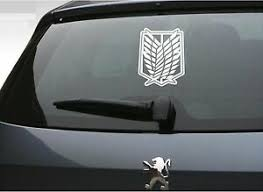 Vinyl Decal Sticker Car Window Attack On Titan Wings Of Freedom 6 X 7 5 Ebay