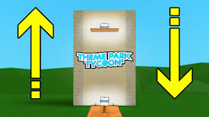 How To Build A Working Elevator In Theme Park Tycoon 2 Roblox Youtube