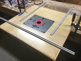 Should I Use T Track Shown Or Miter Slot For The Long Section Parallel To The Fence For My Router Lift Woodworking