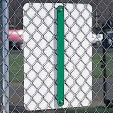 Fence Sign Mounting Brackets Aluminum Sign Brackets Seton