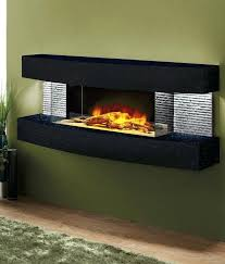 modern fireplace wall contemporary
