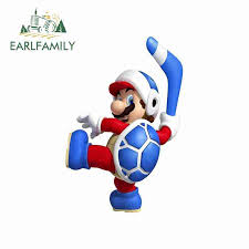 Earlfamily 13cm X 8 7cm For Super Mario Poster Donkey Kong Hockey Wall Stickers Graphic Jdm Motorcycle Decal Vinyl Car Stickers Car Stickers Aliexpress
