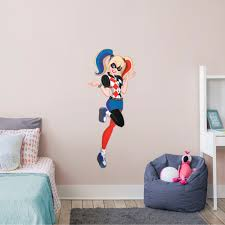 Fathead Harley Quinn Dc Super Hero Girls Giant Officially Licensed Removable Wall Decal Walmart Com Walmart Com