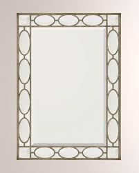 john richard collection beveled mirror