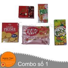 Combo bánh kẹo nội địa Nhật 5 món (số 1)