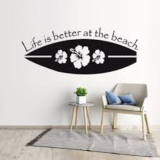 Surfing Wall Decals Shop For High Quality Surfing Wall Decals Free Worldwide Shipping