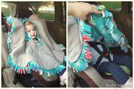 the best car seat poncho tutorial