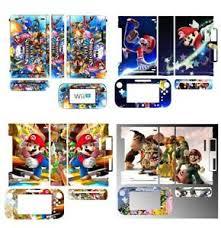 Super Mario Skin Sticker Cover For Nintendo Wii U Console Controller Skins Ebay
