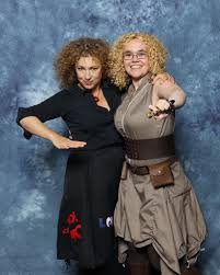 I met Alex Kingston! Please excuse my awkwardness. : doctorwho