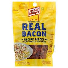 oscar mayer bacon recipe pieces 2 8 oz