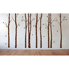 Wall Decal Birch Tree Wayfair