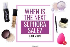 sephora fall 2019 holiday bonus