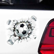 Vodool 15x12cm Diy 3d Soccer Ball Football Wall Car Stickers Whole Removable Car Body Decal Ball Hits Auto Sticker Accessories Car Stickers Aliexpress