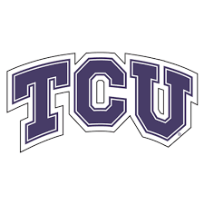 Tcu Horned Frogs Official Ncaa 4x4 Each Die Cut Car Decal 2 Pack By Wincraft Sports Outdoors Decals