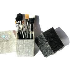makeup brush caddy 1 holder sweeping