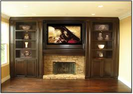 entertainment centers with fireplace