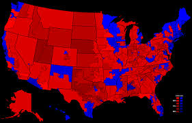 File:2000 Presidential Election, Results by Congressional District.png -  Wikimedia Commons