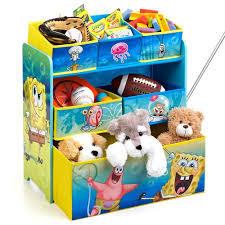 Spongebob Squarepants Multi Bin Toy Organizer By Delta Children Walmart Com Walmart Com