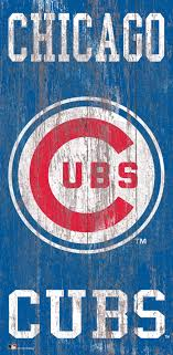 Fan Creations Chicago Cubs Graphic Art Print On Wood Reviews Wayfair