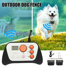 Ready Stock Waterproof Intelligent 2 In 1 Dog Training Outdoor Wireless Fence System Kit Shopee Philippines