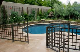 Wrought Iron Pool Security Fence Michael Glassman Associates